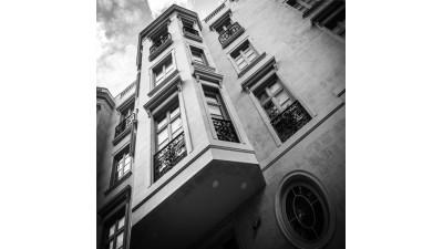 Фасад на Малой Бронной